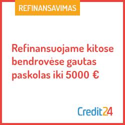 Credit24 iki 5000€ per 15 min.