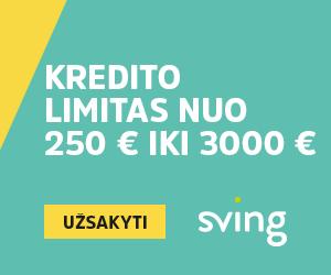 Sving iki 3000€ per 15 min.